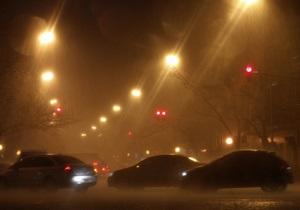 Непогода: в Тернопольской области столкнулись более десяти автомобилей