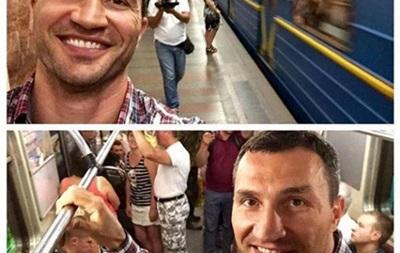 Владимир Кличко прокомментировал свою поездку в киевском метро