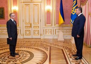 Новый посол ЕС в Украине приступил к обязанностям