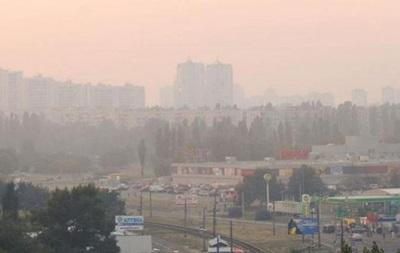 Стало известно, где в Киеве загрязнен воздух из-за горящих торфяников