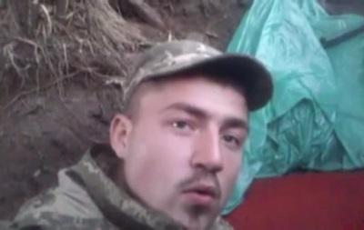 Военный АТО снял на видео, как его обстреляли