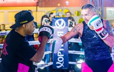 Усик может помочь Кличко в подготовке к бою с Тайсоном Фьюри