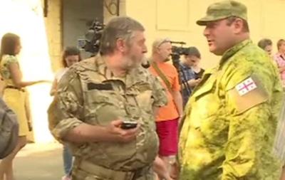 В Киеве митинговали иностранцы-участники АТО