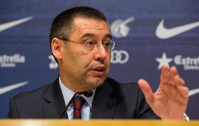 Президент Барселоны: Мы можем второй раз подряд выиграть Лигу чемпионов