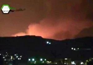 Сирия обвинила Израиль в атаке на военный научный центр