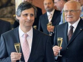 В Чехии прошла церемония назначения нового правительства