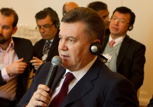 Янукович допускает, что в будущем за политические решения судить не будут