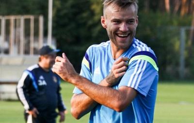 Крутой прием Ярмоленко на тренировке сборной Украины