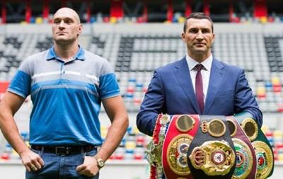 На бой Кличко - Фьюри уже продали 44 000 билетов