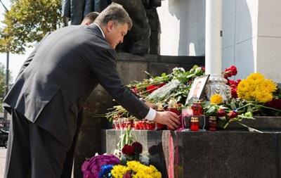 Порошенко пообещал семьям погибших под Радой по 609 тысяч гривен