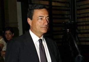 Глава ЕЦБ заявил о прохождении худшей фазы кризиса в Еврозоне