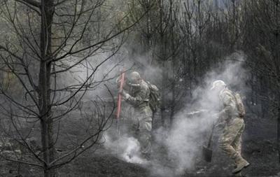 Появились новые фото и видео последствий пожара под Киевом