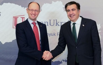 В БПП прокомментировали критику Яценюка со стороны Саакашвили