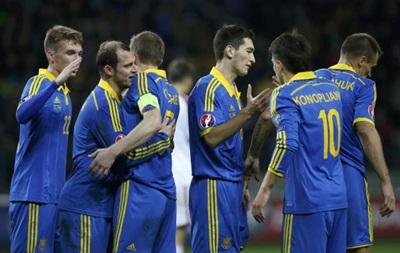 Украина - Беларусь 3:1 Онлайн трансляция матча отбора на Евро-2016