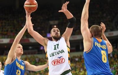 Евробаскет-2015: Украина едва не сотворила сенсацию в матче с Литвой