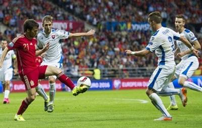 Евро-2016: Испания обыгрывает Словакию
