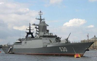 У границ Латвии вновь засекли российский военный корабль