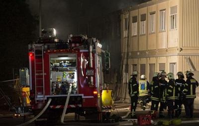В Германии горели два общежития с беженцами
