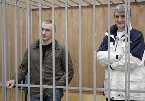 Ходорковский прекратил голодовку, защита просит суд вызвать Путина в качестве свидетеля