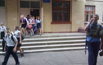 В Краматорске  заминировали  школу