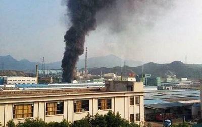 В Китае прогремел взрыв на химическом заводе