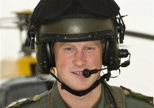 Принц Гарри собирается стать пилотом военного вертолета в Афганистане