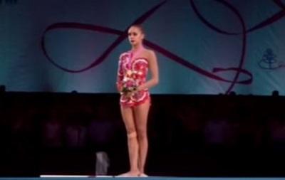 На ЧМ по гимнастике в Германии организаторы дважды перепутали гимн России