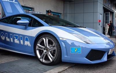 Киевские патрульные получат автомобиль Lamborghini