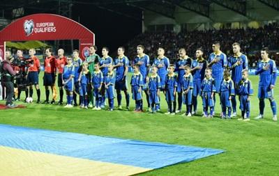 Сборная Украины поднялась на девятую строчку в рейтинге УЕФА