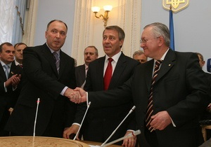 В Верховной Раде советуются, как сохранить правящую коалицию