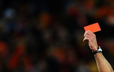 В Англии впервые дисквалифицировали футболиста на основании видеоповтора