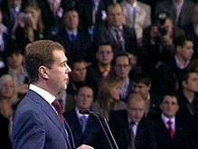 Опрос: За Медведева готовы проголосовать 45% россиян