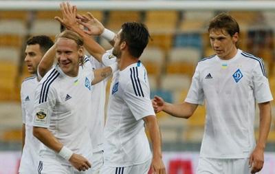 Динамо разгромило Александрию в чемпионате Украины