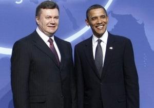 Обама ждет встречи с Януковичем