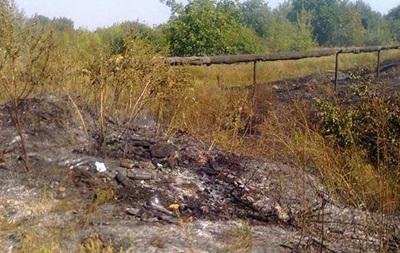 Под Мариуполем во время тушения травы обнаружили труп военного
