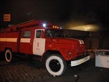 Сегодня ночью в Киеве горел супермаркет