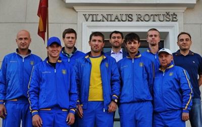 Кубок Девіса: Відбулося жеребкування матчів Литва - Україна