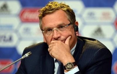 ФИФА отстранила своего генсекретаря из-за подозрений в коррупции