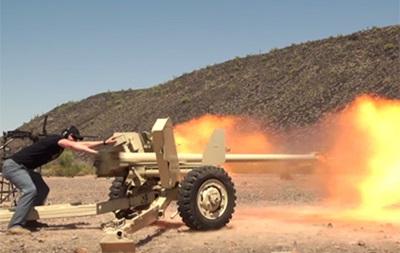 Видеоблогер расстрелял iMac из противотанковой пушки