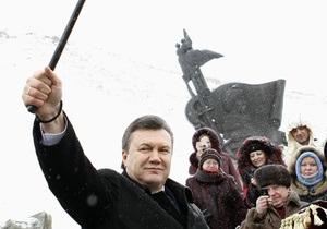 Янукович рассказал, сколько избирателей проголосовали за Тимошенко