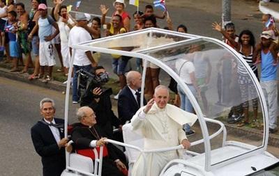 Визит папы римского на Кубу омрачен арестами