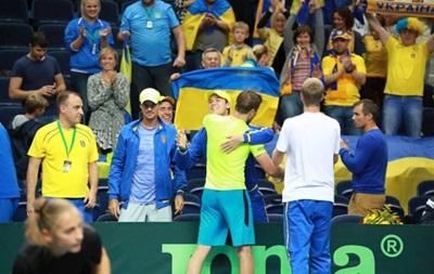 Кубок Девіса: Україна здобула перемогу над Литвою
