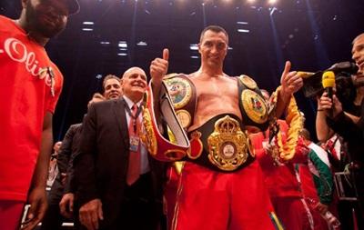 Кличко опустился на шестое место в рейтинге лучших боксеров мира