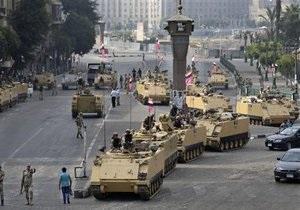 Столкновения в Египте: За сутки полиция арестовала более тысячи исламистов