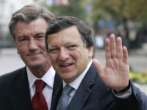 Баррозу: Ющенко на будущей неделе посетит Брюссель