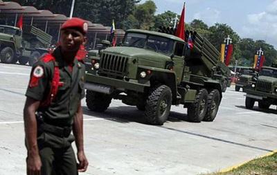 Венесуэла перебросила войска на границу с Гайаной