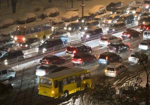 Дороги Киева: власти решили построить пять тоннелей для авто
