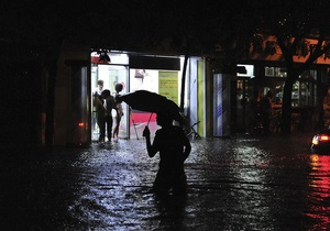 Сильные ливни в Китае: погибли по меньшей мере 14 человек