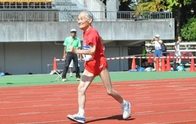 105-летний японец установил мировой рекорд в беге на сто метров