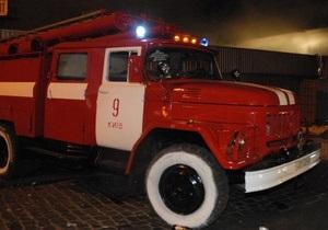 В Киеве в общежитии КПИ произошел пожар